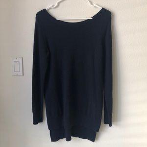 UNIQLO x ines de la fressange cashmere tunic knit